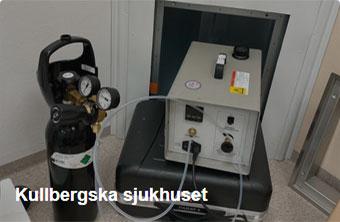 Referens Skyddsventilation - Kullbergska sjukhuset